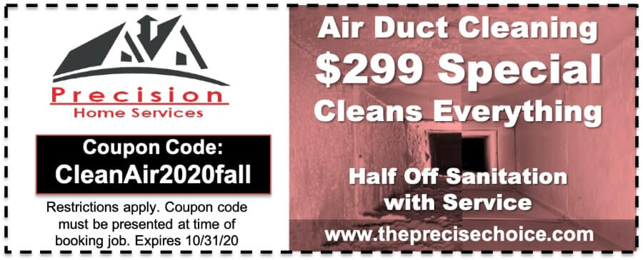 Air Duct Cleaning Coupon 2020 Fall