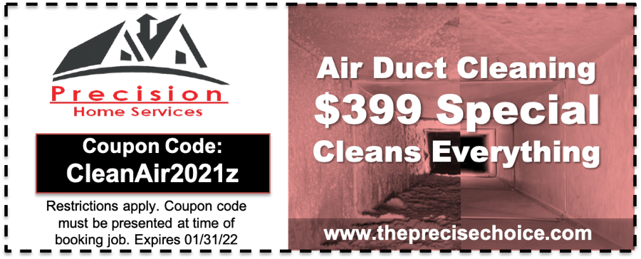 Air Duct Cleaning Coupon 2021 Oct
